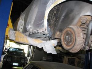 220SE rust repair 028